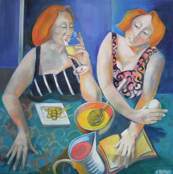 You cook - I'll drink wine LR